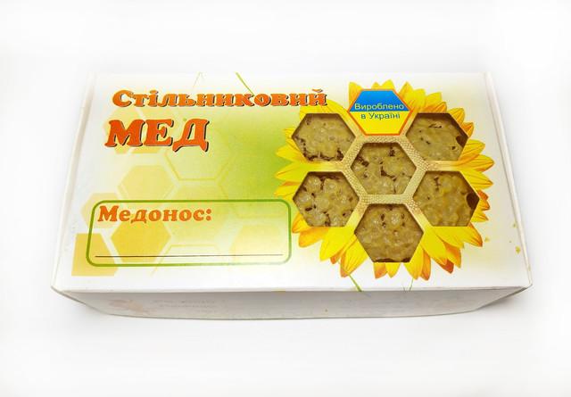 Стільниковий мед - міні рамка 200 грам Apimag