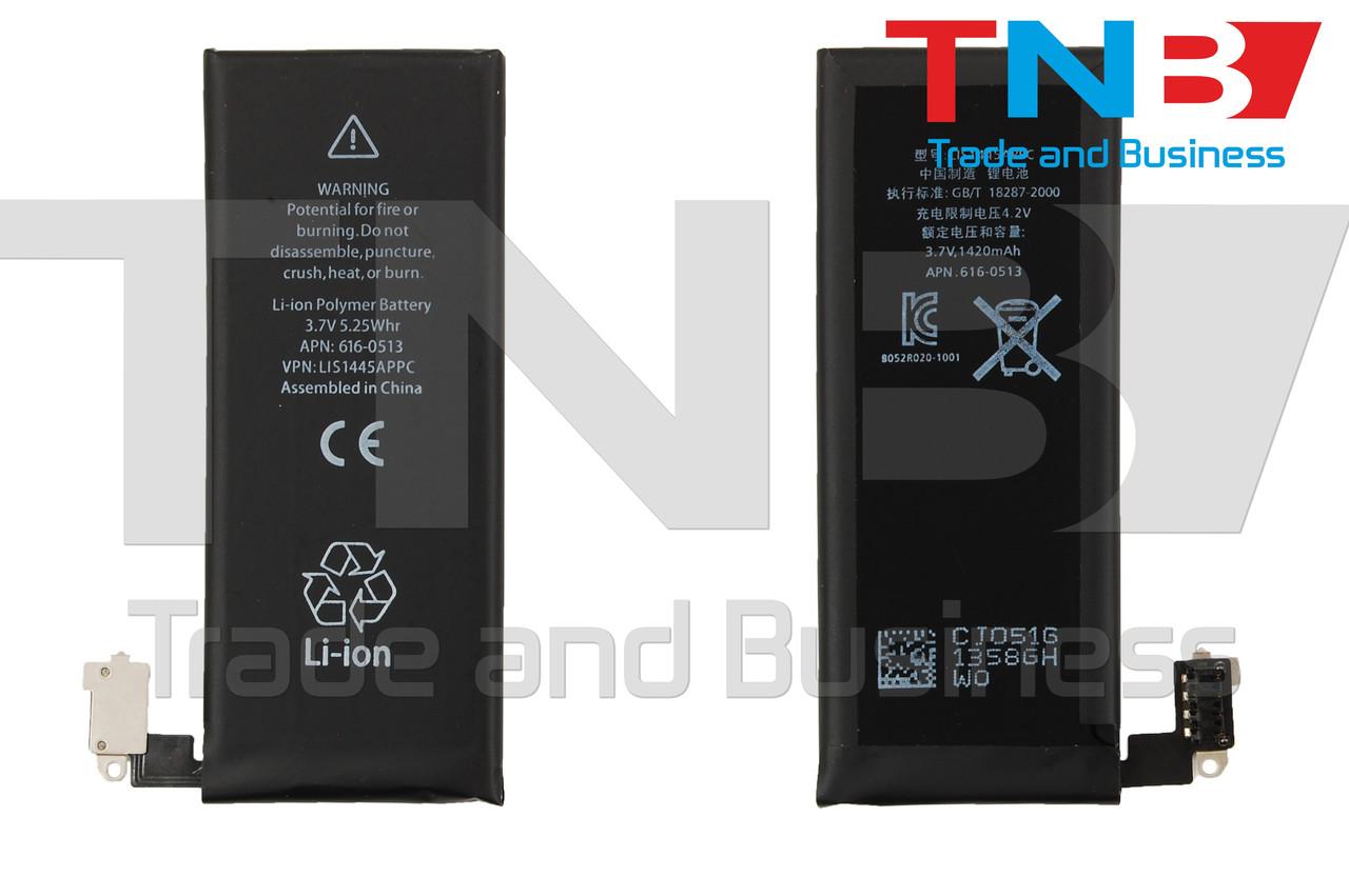 Батарея APPLE 616-0520 APPLE iPhone 4 Li-ion 3.7V 1420mAh ОРИГИНАЛ