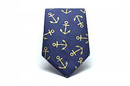 """Галстук, """"Anchor Tie"""", дизайнерский галстук, стильный"""