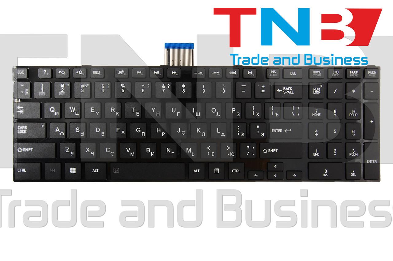 Клавіатура TOSHIBA C850 C855 C870 C875 Черная Тип2