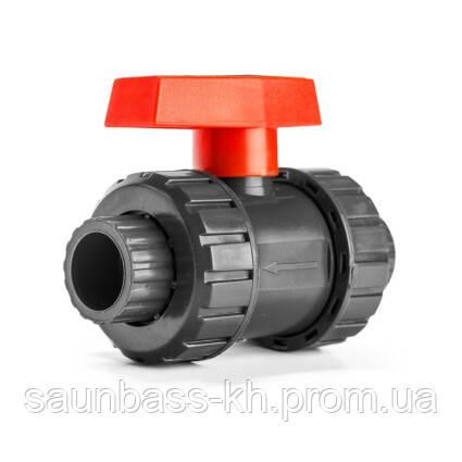 Aquaviva Кран кульовий Aquaviva PN10, діаметр 40 мм