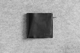 """Кожаный кошелек """"Bro Wallet Elite Black"""", мужские портмоне, кошельки, сумки"""