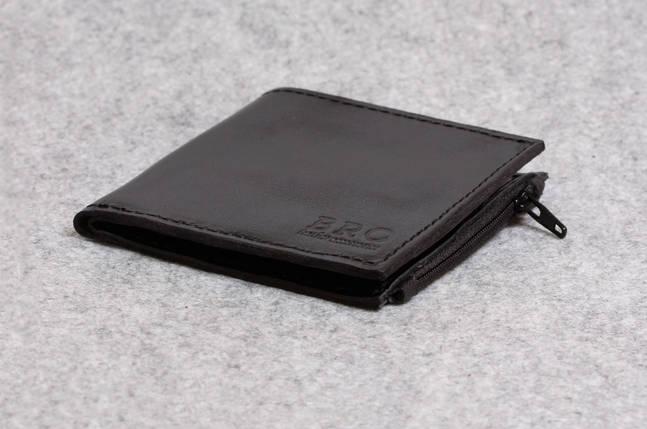 """Кожаный кошелек """"Bro Wallet Elite Black"""", мужские портмоне, кошельки, сумки, фото 2"""