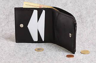"""Кожаный кошелек """"Bro Wallet Elite Black"""", мужские портмоне, кошельки, сумки, фото 3"""