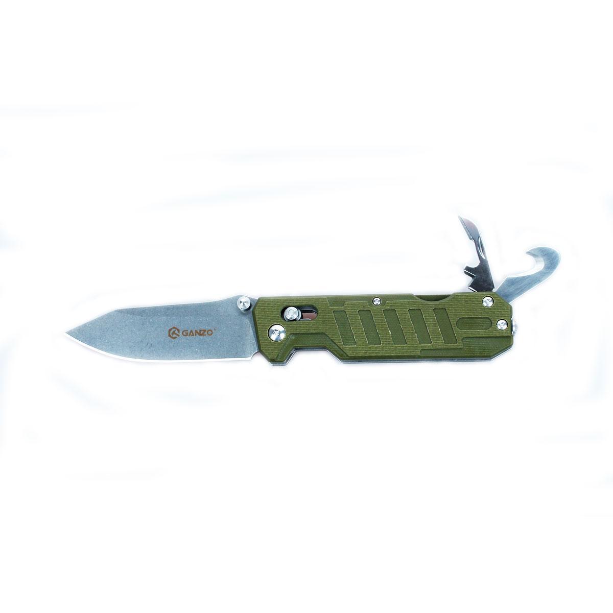Ніж складний Ganzo G735-GR зелений