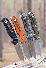 Нож складной Ganzo G727M зеленый, фото 2