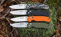 Нож складной Ganzo G727M зеленый, фото 3