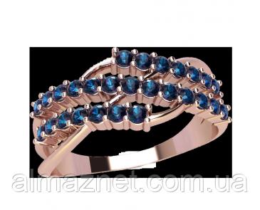 Золотое кольцо без накладок Парусные