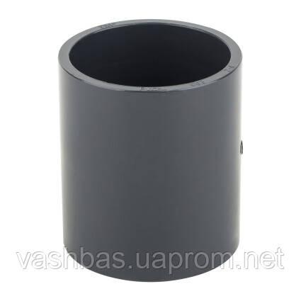 Era Муфта ПВХ ERA соеденительная, диаметр 50 мм.