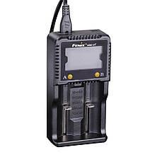 Зарядний пристрій Fenix 2*26650 18650 16340 14500 10440 АА ААА С, фото 2