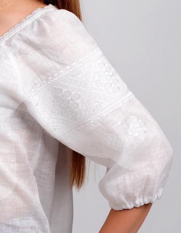 вышиванка  белым по белому