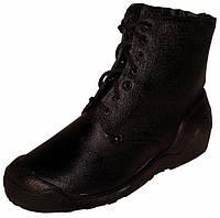 Ботинки юфтевые на ПУП с наплывом