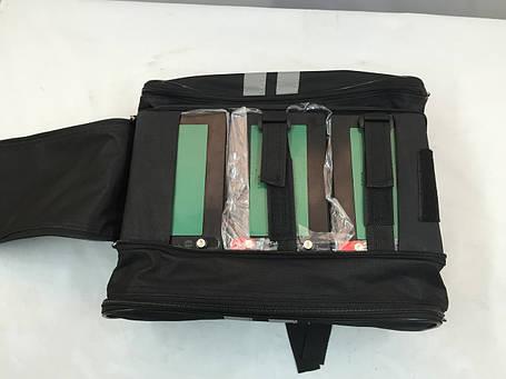 Сумка  для 3-х аккумуляторов на багажник к электровелосипедам, фото 2