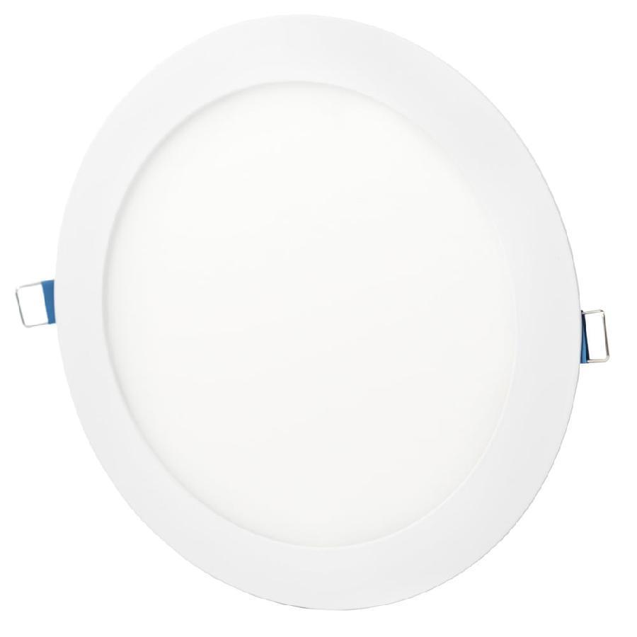 Светильник точечный врезной ЕВРОСВЕТ 24Вт круг LED-R-300-24 6400К
