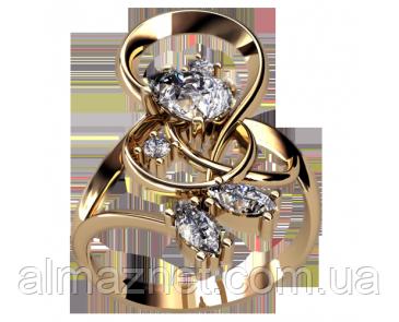Кольцо из золота Беневенто