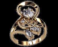 Кольцо из золота Беневенто, фото 1