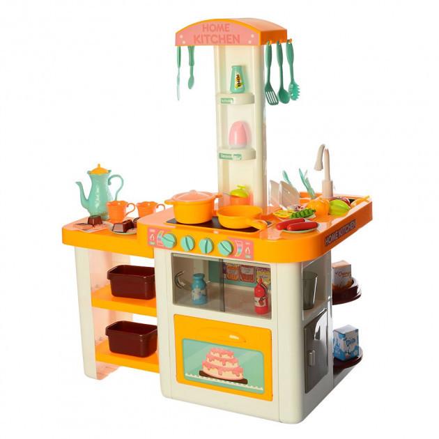 Кухня 889-63 оранжевая (высота 75 см)