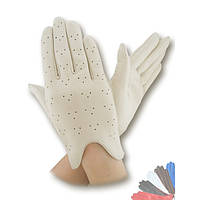 Женские перчатки из натуральной кожи модель 060 без подкладки