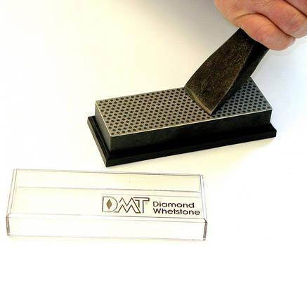 """DMT 6 """"точильний камінь абразивний алмазний Whetstone ™ екстра-грубий в пластиковій коробці, фото 2"""
