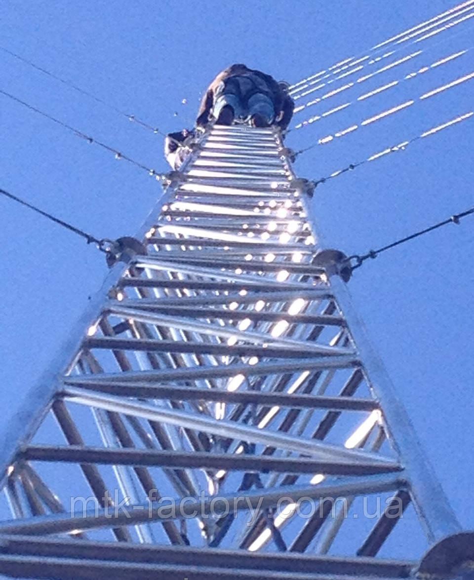 Мачта алюмінієва МФ440 - висота 8 метров