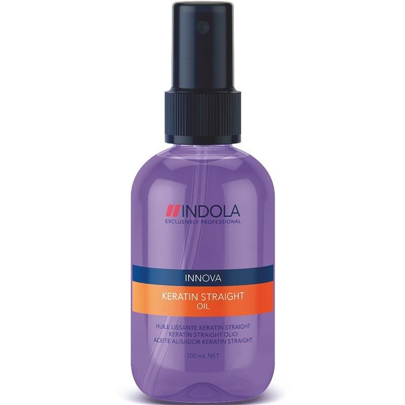 Масло для выравнивания волос Indola Innova Keratin Straight Oil
