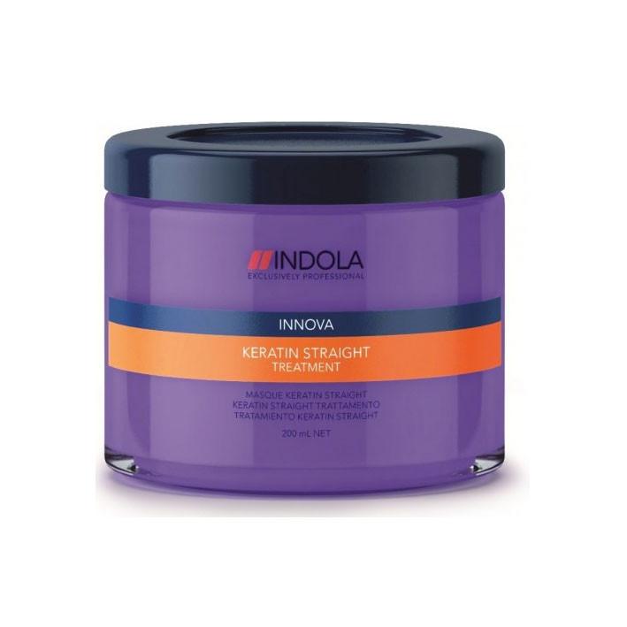 Маска для выравнивания волос Indola Innova Keratin Straight Treatment - STARLOOK интернет-магазин косметики и аксессуаров в Киеве