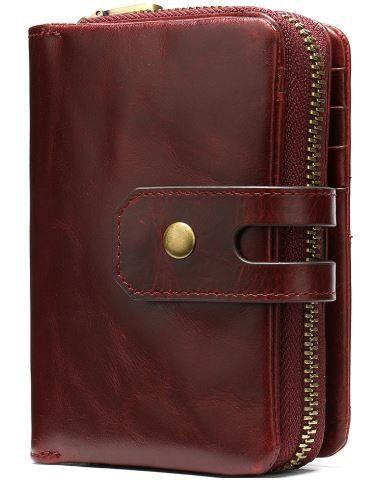 Кошелек Женский Vintage 14920 Бордовый, Красный