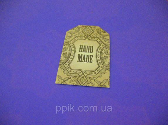 """Набор бирок """"Hand made 2"""" 5 шт., фото 2"""
