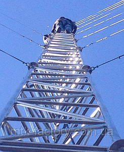 Мачта алюмінієва МФ 440 - висота от 24 до 36 метрів