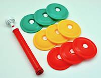 Система Набор Для Вакуумного Консервирования Хранения Вакуумные Крышки Пластиковые С Насосом 9 Шт
