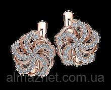 Золоті сережки пуссети Алтайський квітка