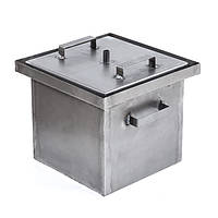 Коптильня горячего копчения (не окрашена,1,5 мм сталь, 300*300*280 мм) HousePro