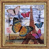 Набор для вышивания бисером Привет из Парижа БФ 107