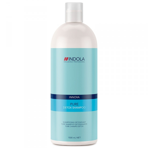 Шампунь очищающий для всех типов волос Indola Innova Pure Detox Shampoo 1500 мл