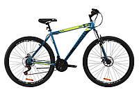"""Велосипед 29"""" Discovery TREK AM DD 2020 (малахитовый с желтым (м))"""
