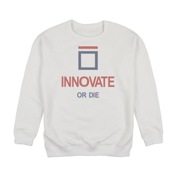 """Світшот унісекс """"Innovate or Die"""""""