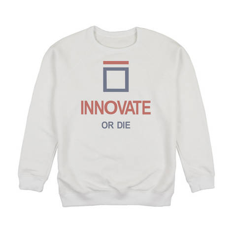 "Світшот унісекс ""Innovate or Die"", фото 2"