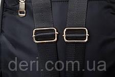 Рюкзак женский нейлоновый Vintage 14805 Черный, Черный, фото 3