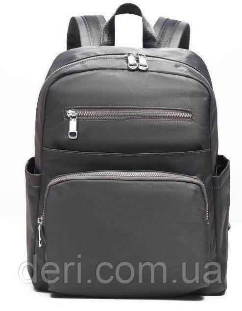 Рюкзак нейлоновый Vintage 14813 Серый, Серый