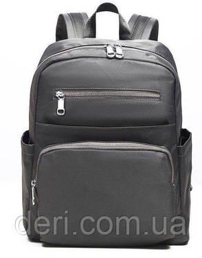 Рюкзак нейлоновый Vintage 14813 Серый, Серый, фото 2