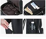 Рюкзак нейлоновый Vintage 14813 Серый, Серый, фото 4