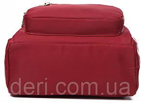 Рюкзак женский нейлоновый Vintage 14862 Красный, Красный, фото 2
