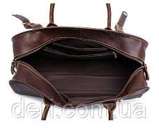Дорожная сумка Crazy 14895 Vintage Серо-коричневая, Коричневый, фото 2