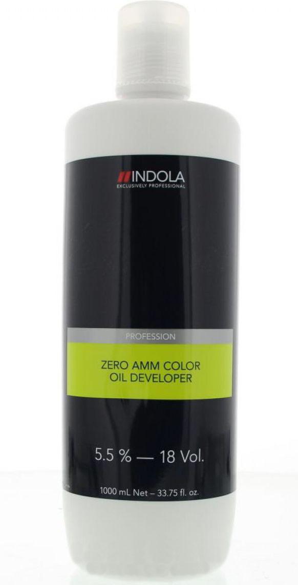 Лосьон-проявитель 5,5% на масляной основе Indola Profession Zero Amm