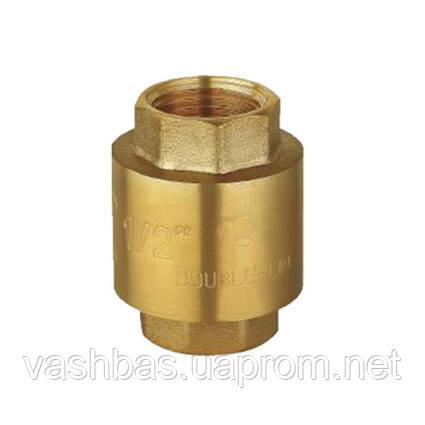 "Aquaviva Зворотний клапан Aquaviva HK5001Brass 1 1/4"", латунь"