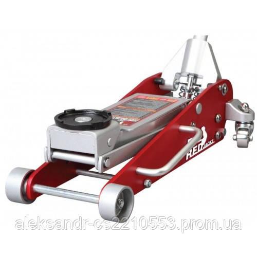 Torin T825011L - Домкрат підкатний алюмінієвий 2,5 т низькопрофільний з подвійною помпою 100-460 мм