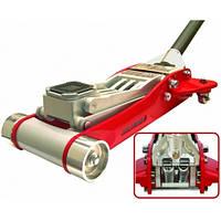 Torin T830002L - Домкрат подкатной алюминиевый 3,0т HEAVY DUTY низкопрофильный с двойной помпой 100-465 мм