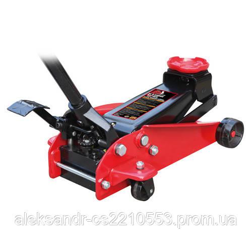 Torin T83000ET - Домкрат подкатной профессиональный 3т с педалью 150-490 мм