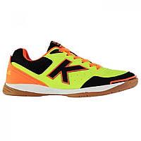 Футзалки Kelme K Strong Indoor Court Trainers Lime/Orange/Blk - Оригинал