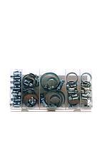 Набор хомутов (26 шт) Powerfix 517г Серебро